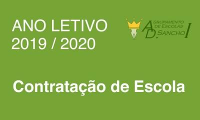 Contratação de Escola 2019 / 2020