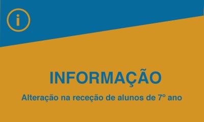 ALTERAÇÃO DE HORÁRIO DE RECEÇÃO
