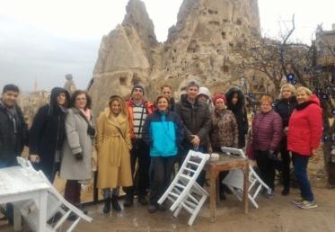 Projeto Erasmus+ 1º Meeting Turquia