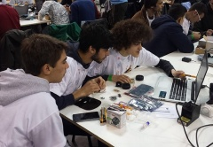 D. Sancho I participa na Roboparty 2018