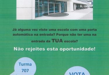 Orçamento Participativo: Proposta 3 - Porta de Entrada Automática