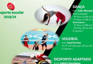 Desporto Escolar 2018-2019