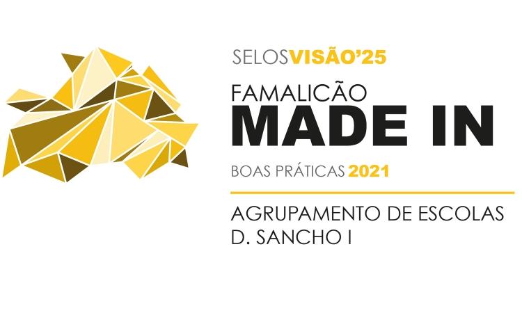 Selo Famalicão Visão'25 2021