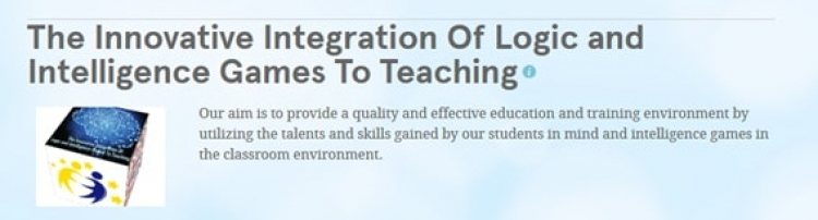 The Innovative Integration of logic and intelligence games to teaching