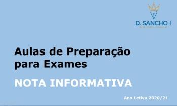 Aulas de Preparação para Exames